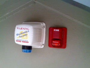 Moztronics Dual Purpose Siren Alarm & Fire Alert